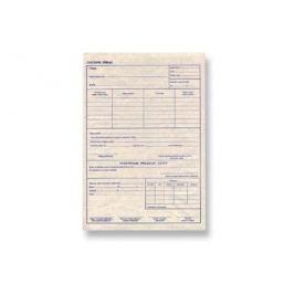 Cestovní příkaz vyúčtování pracovní cesty, A5, blok 50 L