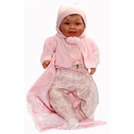 Nines Mechanická panenka Susi, 45 cm