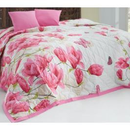 Carbotex Přehoz Alize Pink 220x240 + 2x 40x40 cm