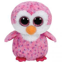 TY GLIDER růžový tučňák 24 cm