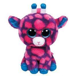 TY SKY HIGH - růžová žirafa 24 cm
