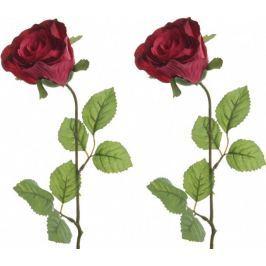 Kaemingk Růže rudá 45 cm, 2 ks