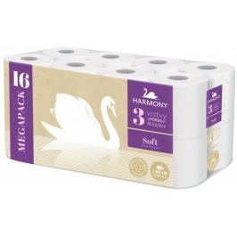 Harmony Toaletní papír Soft Cream 3-vrstvý 16 rolí