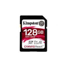 Kingston 128GB Canvas React SDXC UHS-I V30 (SDR/128GB)