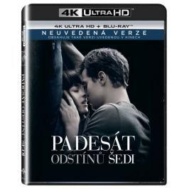 Padesát odstínů šedi  (2 disky) - Blu-ray + 4K ULTRA HD