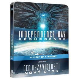 Den nezávislosti: Nový útok   (2D+3D verze, 2 disky)   - Blu-ray