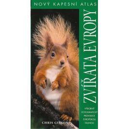 Gibson Chris: Zvířata Evropy - Nový kapesní atlas