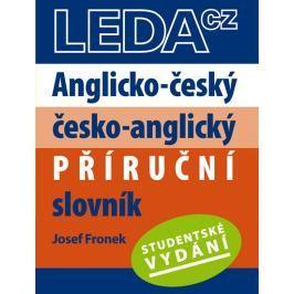 Fronek Josef: Anglicko-český, česko-anglický příruční slovník-Studentské vydání