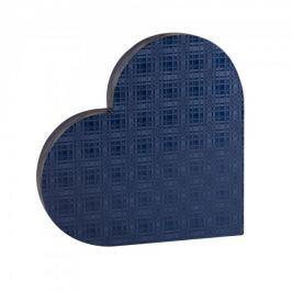 Dárková krabice Lenka 1, modrá kára - 38x34x5,8 cm