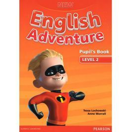 Worrall Anne: New English Adventure 2 Pupil´s Book and DVD Pack