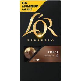 L'Or Espresso Forza Intenzita 9 - 100 hliníkových kapslí kompatibilních s  kávovary Nespresso® *