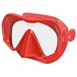 Seac Sub Maska bezrámečková TOUCH, Seac Sub, červená