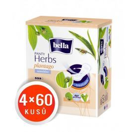 Bella Herbs Plantago Sensitive Slipové vložky 240 ks