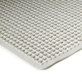 Bílá koupelnová protiskluzová sprchová rohož - 55 x 55 cm