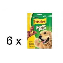 Friskies Friskies Beggin Strips s příchutí slaniny 6 x 120g