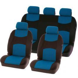 CarPoint Potahy sedadel Chicago 9 dílů - modré