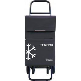 Rolser Nákupní taška na kolečkách Termo Fresh MF Convert RG, šedá