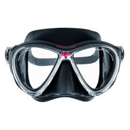 HOLLIS Maska M-3, potápěčské brýle, černá/transparentní rám