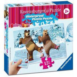 Ravensburger Máša a Medvěd 12 plast. dílků III