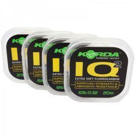 Korda Fluorocarbon IQ Extra Soft 20 m 10 lb