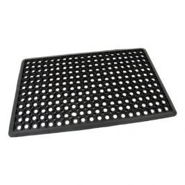 FLOMAT Gumová vstupní čistící rohož Honeycomb - Edge - 80 x 50 x 1,5 cm