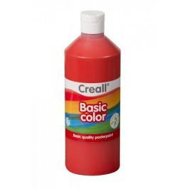 Barva temperová 0,5 l červená