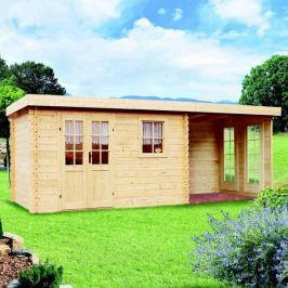 LanitPlast zahradní domek LANITPLAST LEO M2 598 x 250 cm