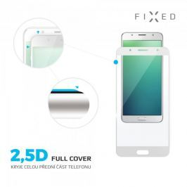 Fixed Ochranné tvrzené sklo Full-Cover pro Honor 7X, přes celý displej, 0.33 mm, bílé