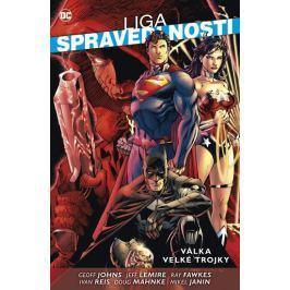 Johns Geoff, Reis Ivan,: Liga spravedlnosti - Válka velké trojky