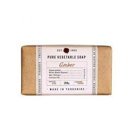 Fikkerts Hydratační rostlinné mýdlo Ambra (Pure Vegetable Soap) 200 g