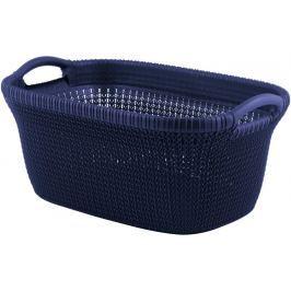 Curver Koš na prádlo Knit 40 l fialový