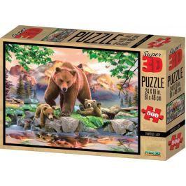 Lamps 3D Puzzle Medvědi 500 dílků