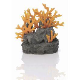 Oase Lávový kámen s oranžovým korálem