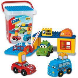 Unico Cars for kids - Parkoviště v boxíku