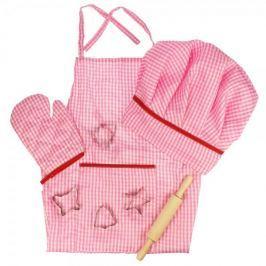 Bigjigs Toys Růžový set šéfkuchařky