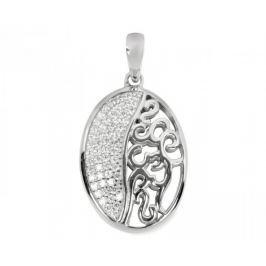 Silver Cat Stříbrný přívěsek s krystaly SC044 stříbro 925/1000