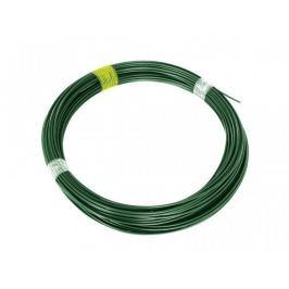Napínací drát Zn+PVC - zelený, délka 44 m