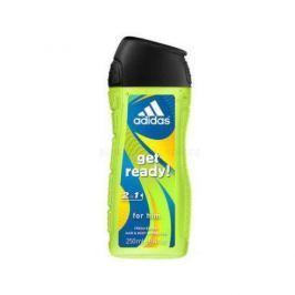 Adidas Sprchový gel pro muže na tělo i vlasy Get Ready! (Shower gel) (Objem 250 ml)