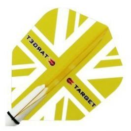 Target – darts Letky VISION 100 Standard Union Jack Yellow 34117300