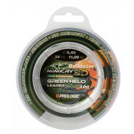 ProLogic Šokový Vlasec Mimicry Green Helo Leader 100 m 0,50 mm, 15,6 kg