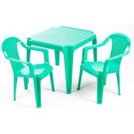 Grand Soleil Sada stoleček a dvě židličky zelená