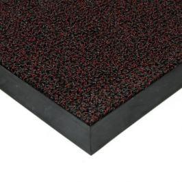FLOMAT Červená plastová zátěžová vstupní čistící rohož Rita - 60 x 80 x 1 cm