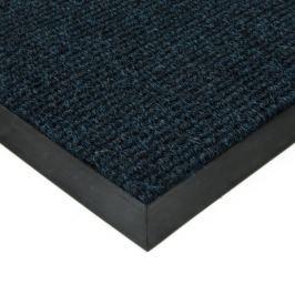 FLOMAT Modrá textilní zátěžová čistící rohož Catrine - 50 x 80 x 1,35 cm