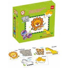 Mac Toys Vybarvoací puzzle zvířátka