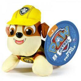 Spin Master Paw Patrol Plyšová postavička Rubble 10 cm žlutá