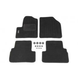 MAMMOOTH Koberce textilní, Ford Transit Connect 2002-2013, černé, sada 4 ks