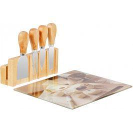 Time Life Servírovací sada na sýr, bambus