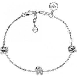 Emporio Armani Luxusní stříbrný náramek EG3315040 stříbro 925/1000
