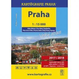 PRAHA/velký atlas města 1:15 000