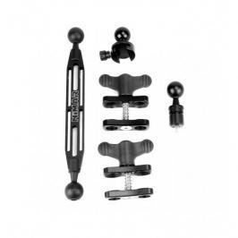 NIMAR Sada rameno a M6 (INON) adaptér hliník eloxovaný 40 cm (15,7